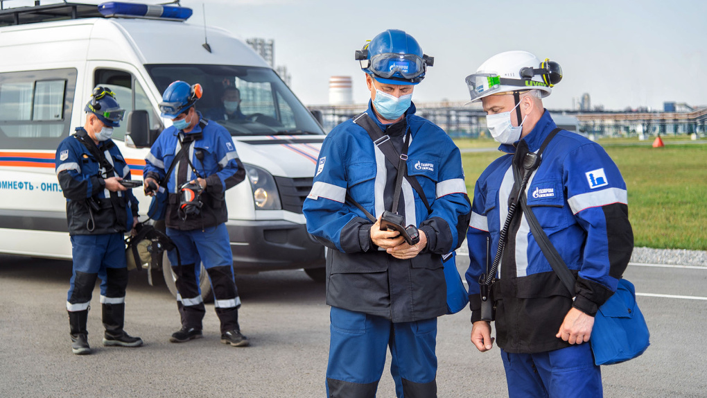 Омский НПЗ развивает систему безопасности сотрудников
