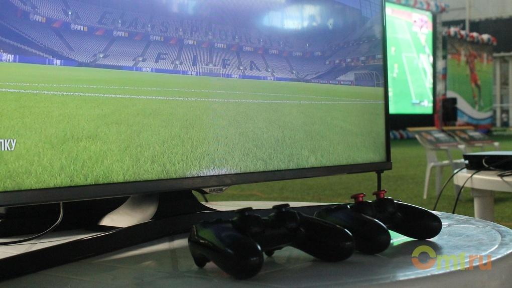 Спорт на стуле: в Омске прошел чемпионат по интерактивному футболу