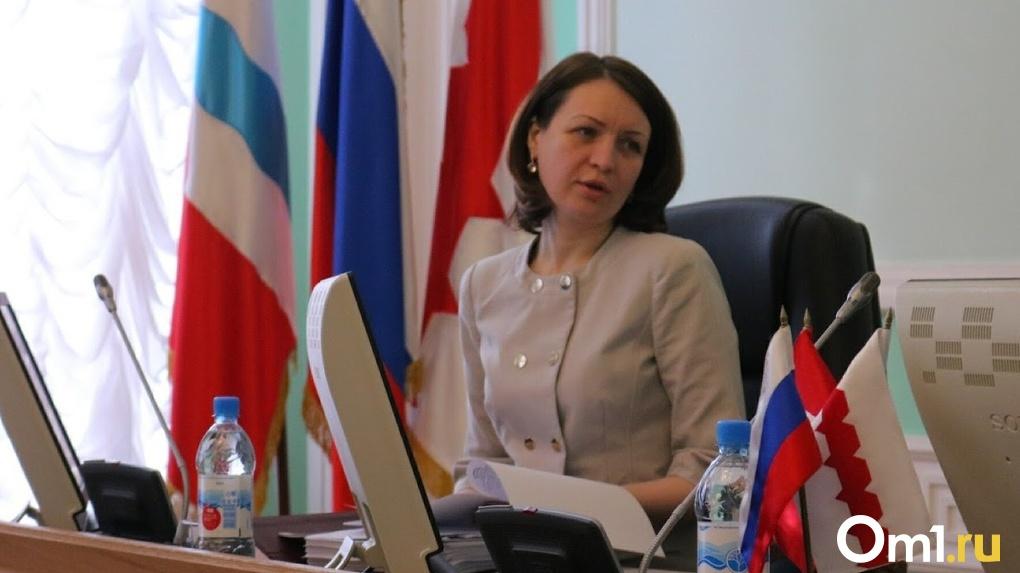 Оксана Фадина рассказала Совету Федерации о доверии омичей к власти