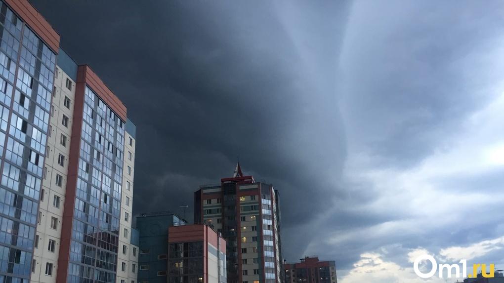 Страшные тучи сгустились над Новосибирском