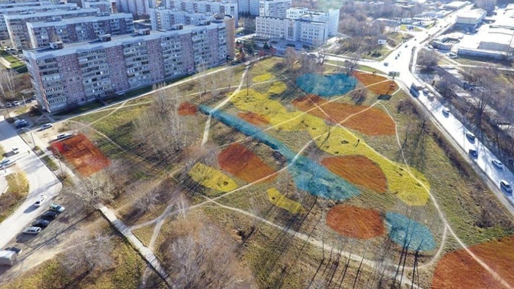 В мэрии Новосибирска заявили о намерении начать благоустройство сквера на улице Демакова летом 2021 года
