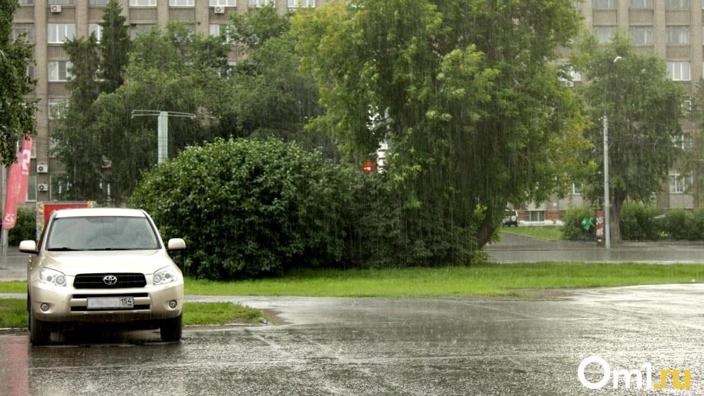 Погода испортит выходные! На Новосибирск надвигается мощная гроза