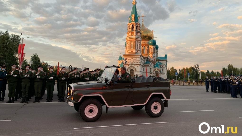 На парад Победы в Омске позвали не всех ветеранов