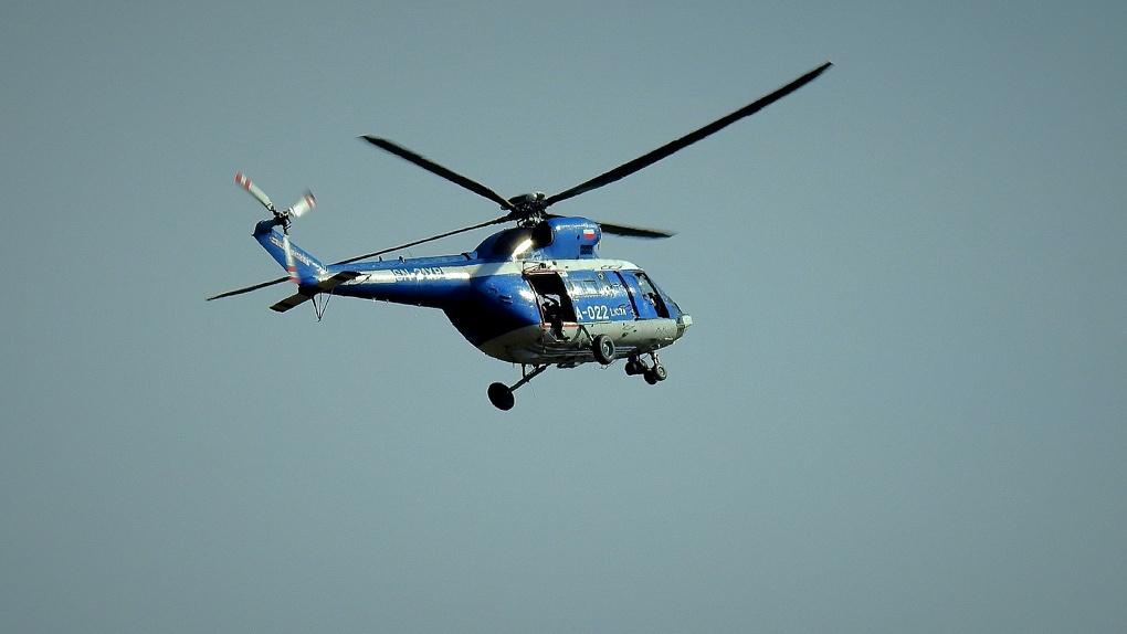 В Улан-Удэ упал вертолет: есть погибшие