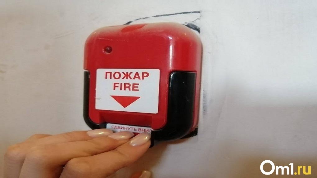 В Новосибирске 36 пожарных тушили вспыхнувшую сауну в Ленинском районе