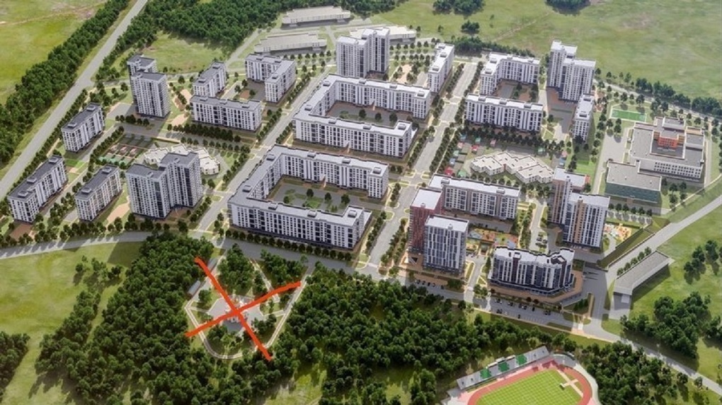 Он не впишется в концепцию парка: новосибирцы резко высказались против строительства храма в Кольцово