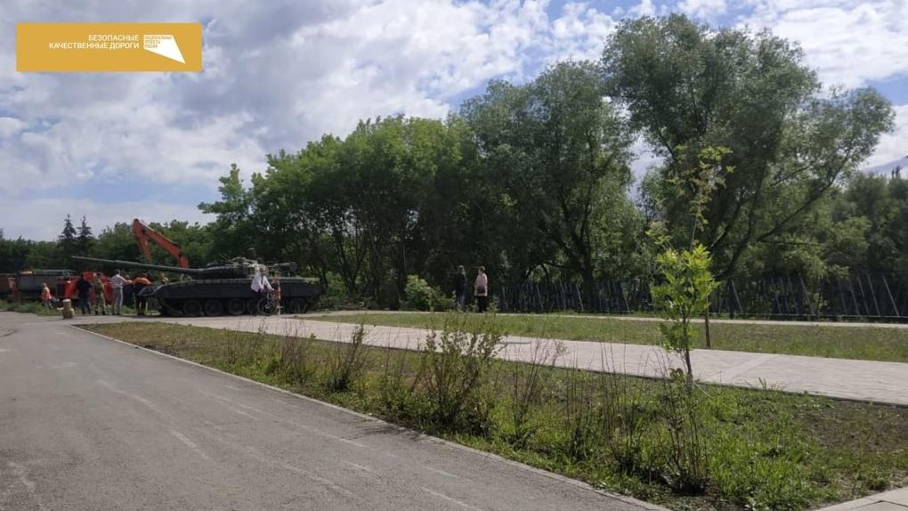 В Омске начинается третий этап благоустройства Оми: на очереди новая дорога и много газонов