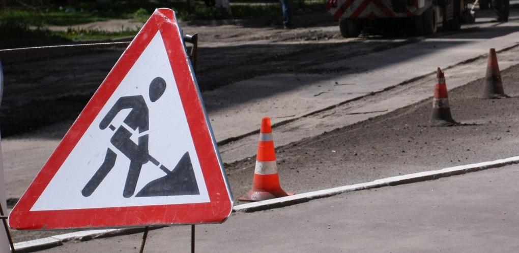В Омске осталось отремонтировать всего одну дорогу