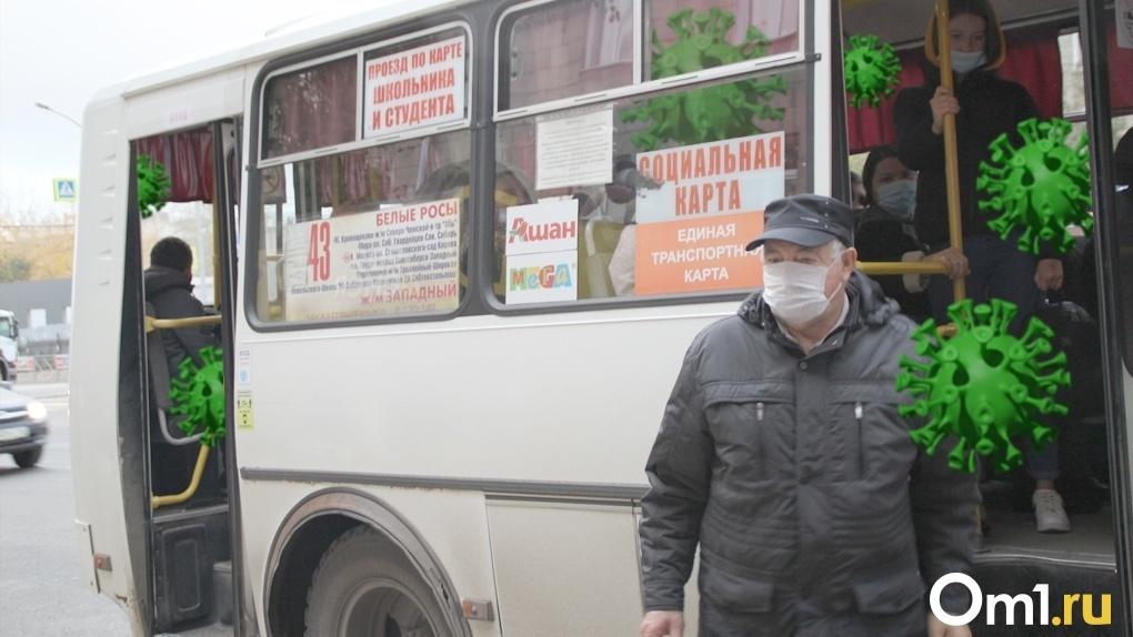 Новосибирских перевозчиков обяжут раздавать маски пассажирам