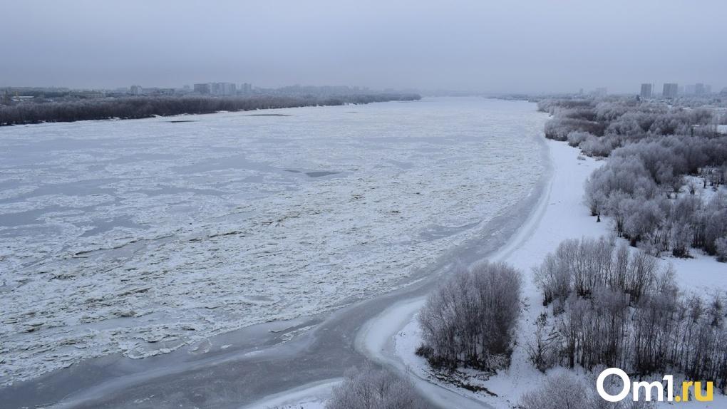 Стало известно, насколько весной поднимется уровень воды в реках Омской области