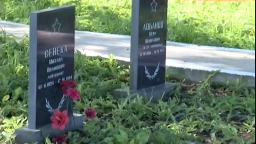В Нижнем Новгороде восстановили надгробную плиту омскому солдату, которую ранее разрушили вандалы