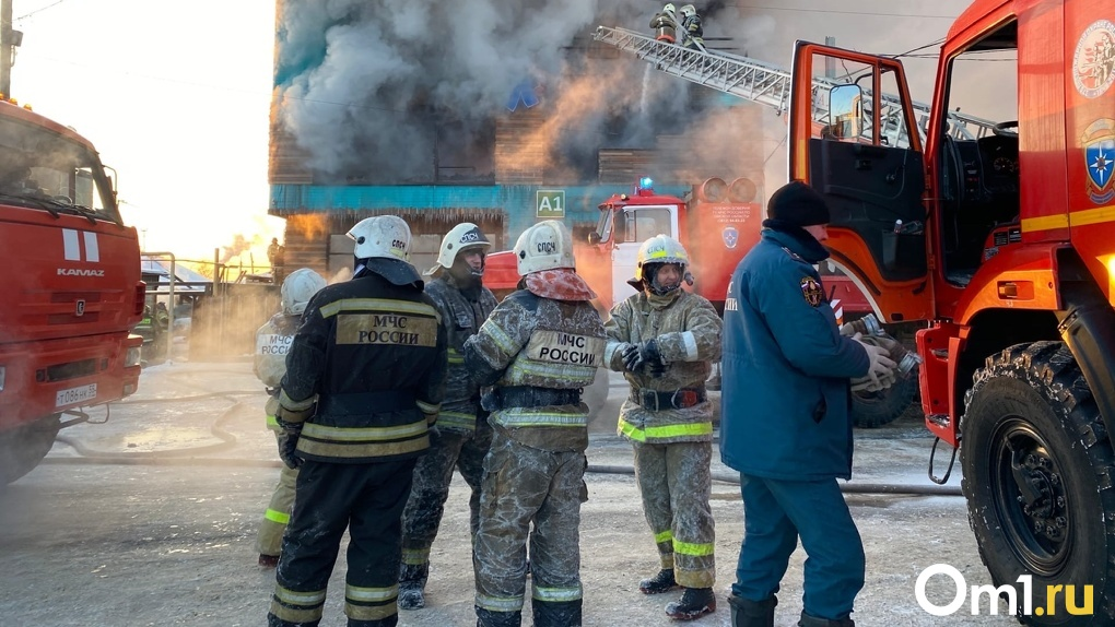 Горит тополиный пух. В Омске за день произошло больше пяти пожаров