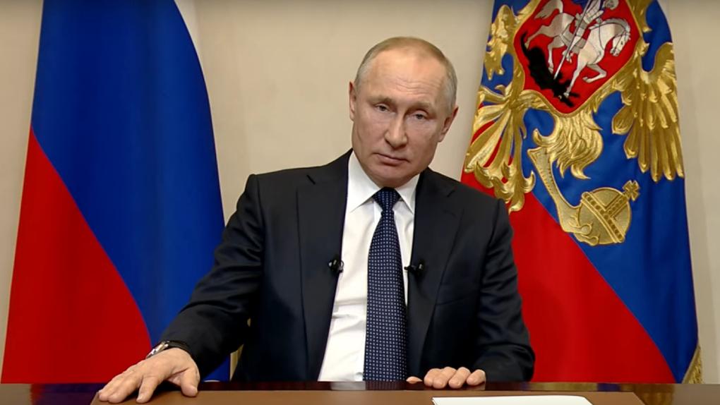 Режим ЧС, изоляция, миллиарды для бизнеса? Путин вновь выступает с посланием к нации. LIVE