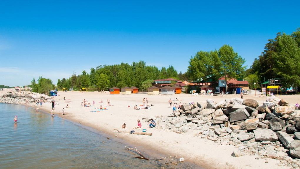 Власти планируют открыть пляжи в Новосибирской области 1 июля
