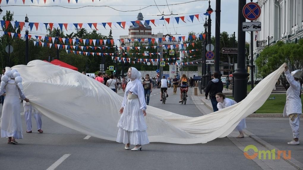 «Любинский. Live» собрал на проспекте культурных омичей