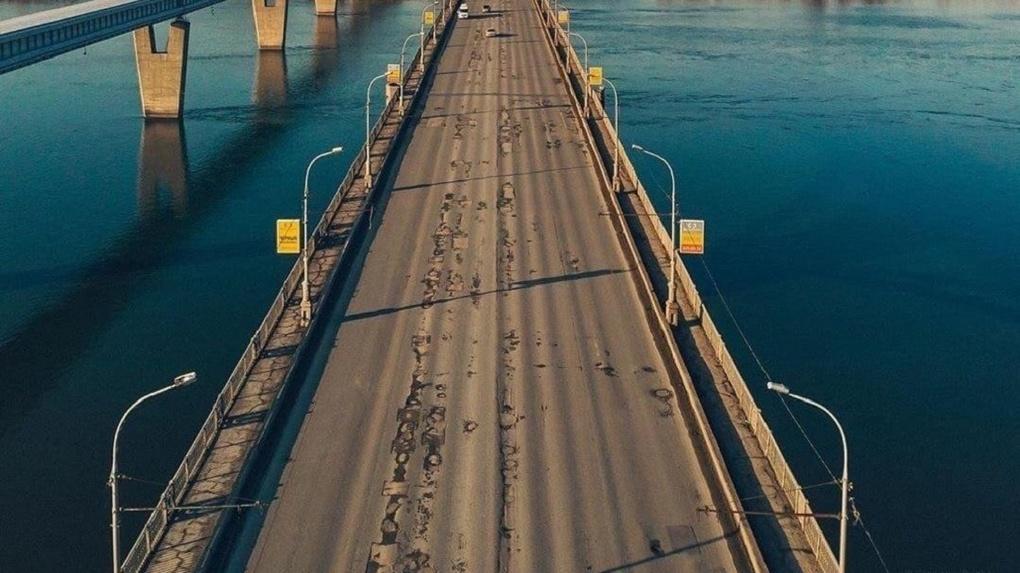 Стало известно, как будет проходить капитальный ремонт Октябрьского моста в Новосибирске