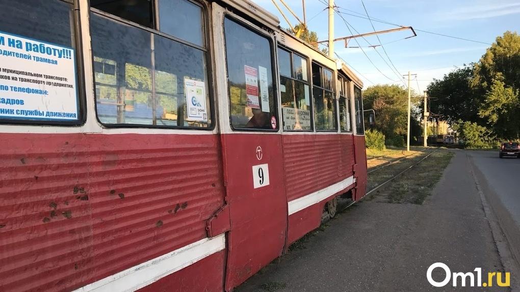 Списанные московские трамваи хотят перевезти в Омск