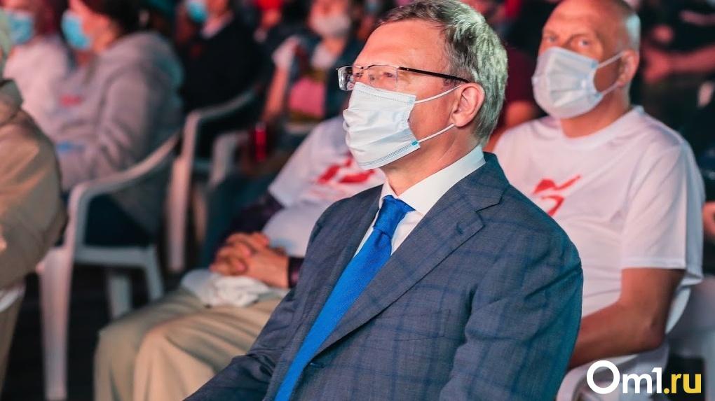 Омский губернатор Александр Бурков поднялся в рейтинге глав регионов