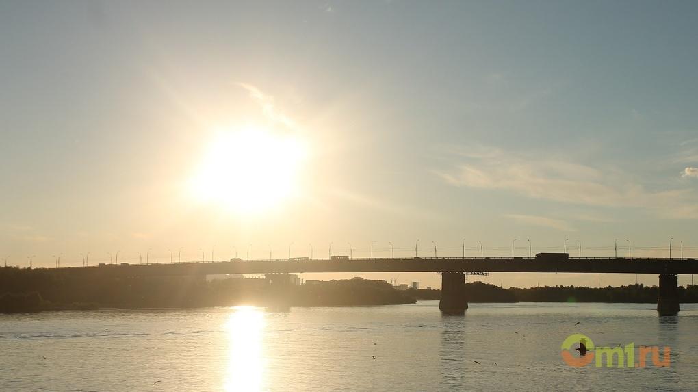 Июль в Омске начнется с 30-градусной жары