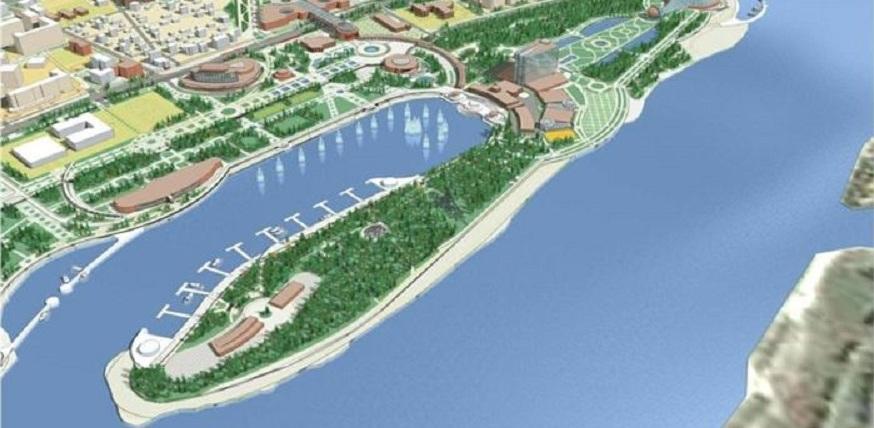 На Зелёном острове в Омске построят новый стадион