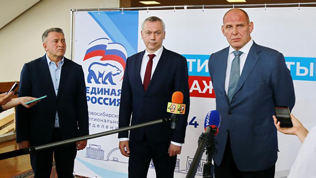 Новосибирские единороссы примут предвыборную программу в День российского флага