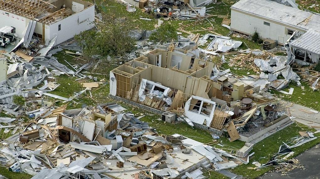 Омская школа снова пострадала от урагана