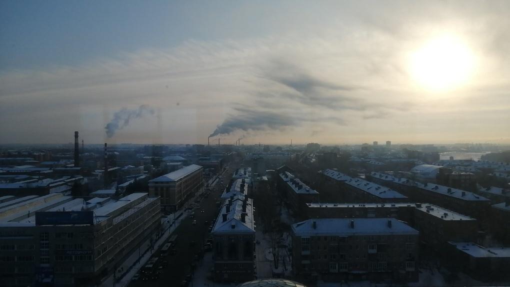 Омский блогер неожиданно нашел источник ядовитых выбросов в атмосферу Омска