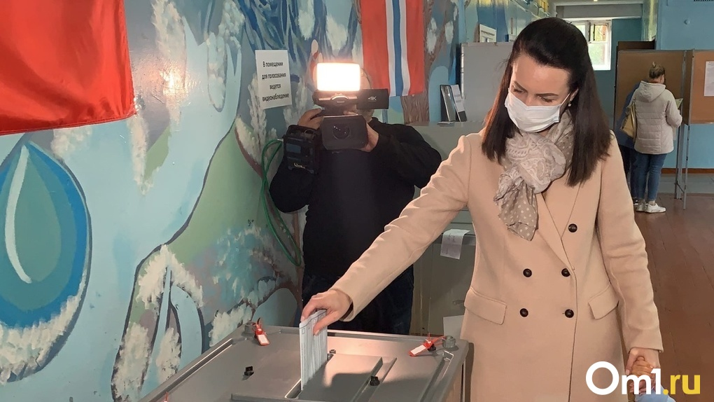 Мэр Омска Оксана Фадина проходит в Госдуму. Опубликованы предварительные данные выборов в Омской области