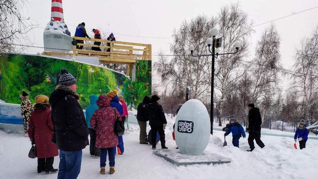 Депутат из Новосибирска возмутилась платным входом в Ледовый городок на Михайловской набережной
