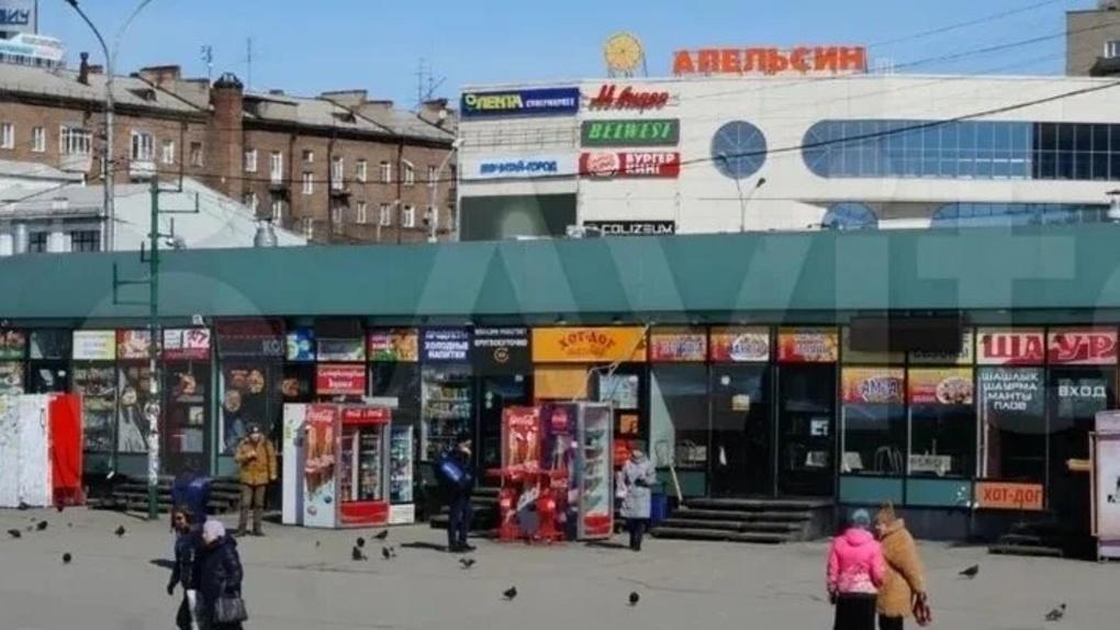 Торговый павильон на вокзале Новосибирск-Главный продают за 74 млн рублей