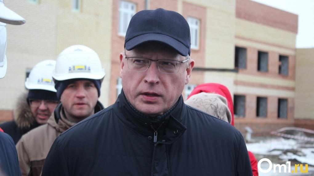 Александр Бурков побывал в строящемся корпусе психоневрологического диспансера