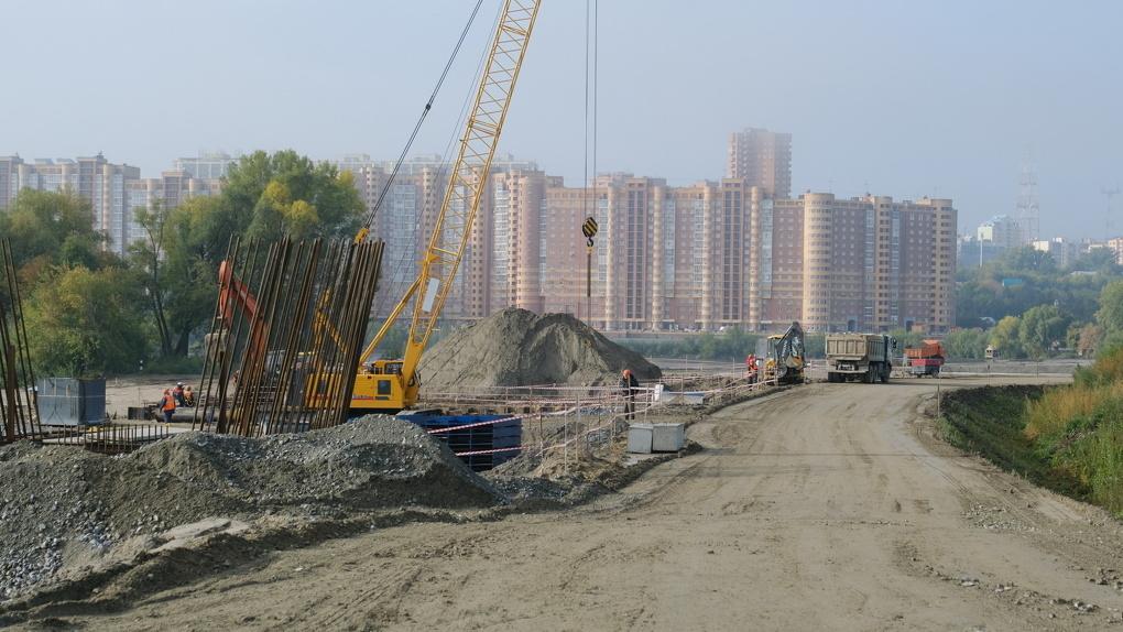 В 2021 году четвёртый мост в Новосибирске закончат на 62%