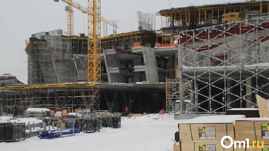 При строительстве новосибирского ЛДС нашли нарушения