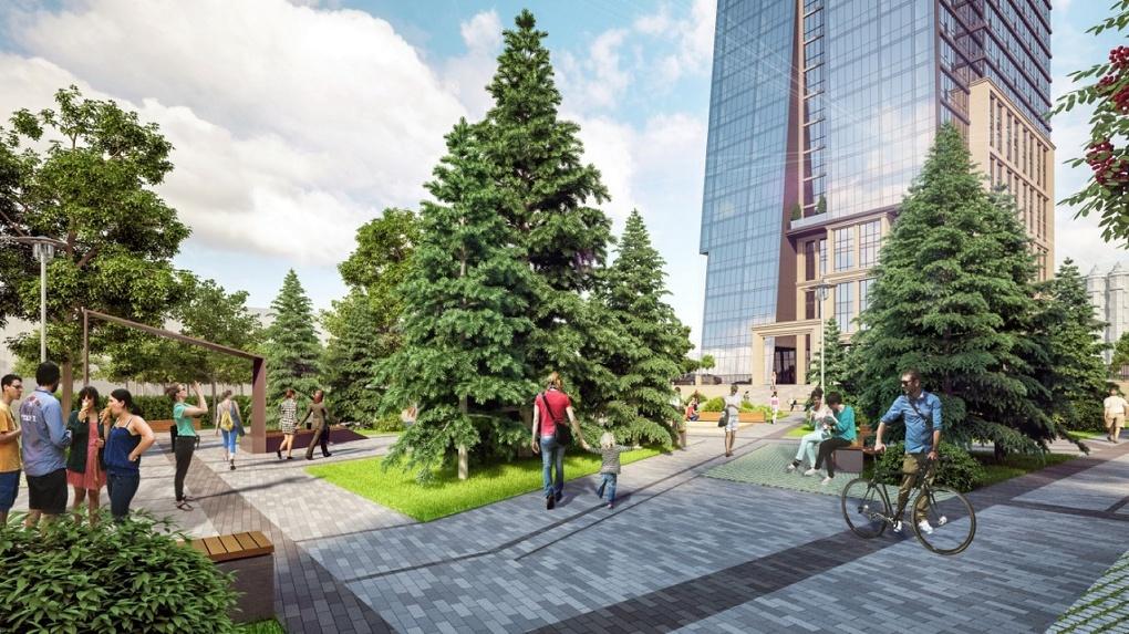 В Новосибирске открывается сквер «Альгамбра»