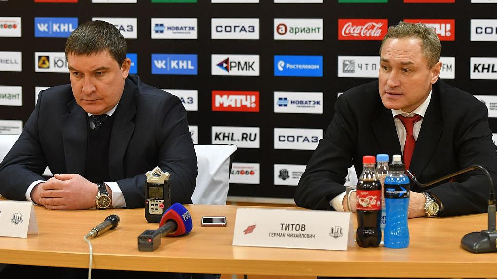 Тренер омского «Авангарда» Титов признался, что совершил ошибку, поставив Фурха на ворота