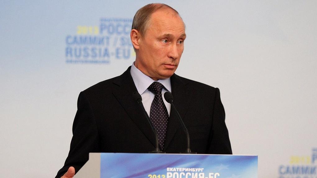 Владимир Путин объявил об отказе от призыва в армию