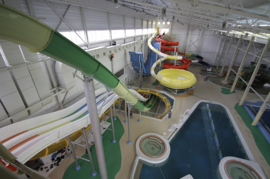 Первый омский аквапарк на Завертяева закрылся спустя месяц работы