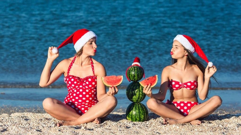 Новый год на Красном море