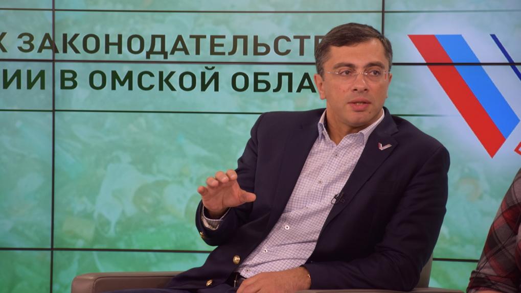 Гутенев назвал свою кандидатуру в губернаторы Омской области фантазией журналистов